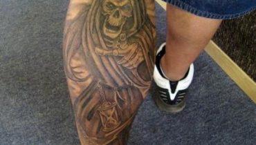 tatuajes de la santa muerte chicos