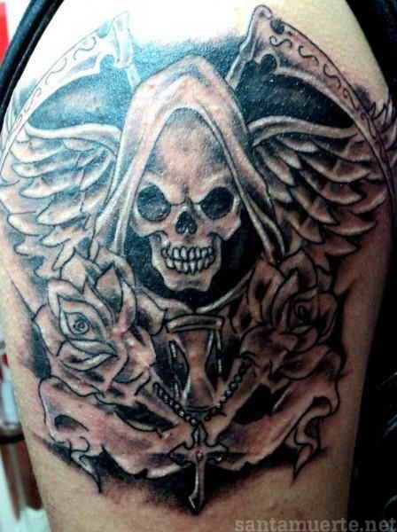 122 tattoos de la Santa Muerte
