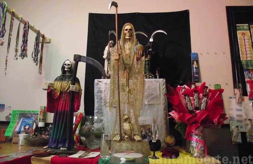 Santa Muerte agradecimiento