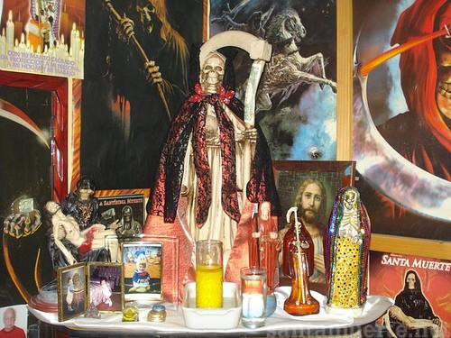 Santa Muerte historia