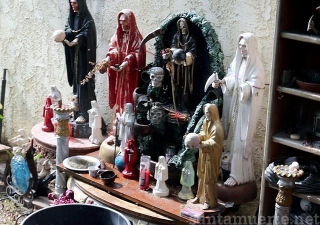 Santa Muerte ritual