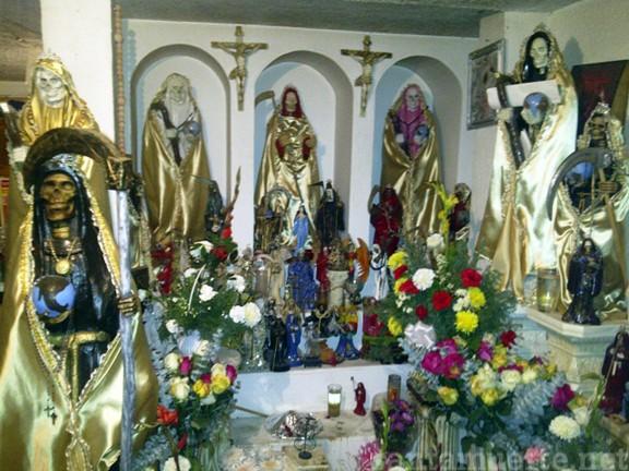 Santa Muerte velacione