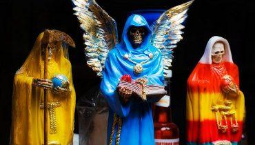 colores santa muerte