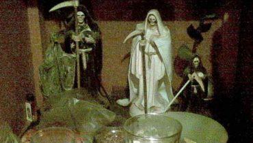 puro purito Santa Muerte
