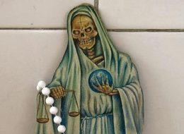 santa muerte balanza