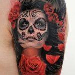 santa muerte tattoo101