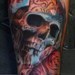 santa muerte tattoo102