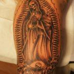 santa muerte tattoo104