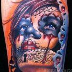 santa muerte tattoo106