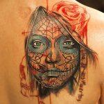 santa muerte tattoo109