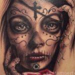 santa muerte tattoo113