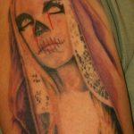 santa muerte tattoo117