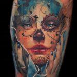 santa muerte tattoo122
