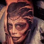 santa muerte tattoo19