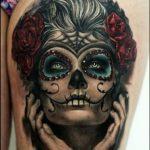 santa muerte tattoo2