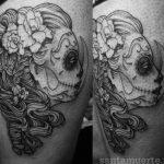 santa muerte tattoo21