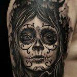 santa muerte tattoo24