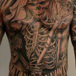 santa muerte tattoo25