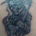 santa muerte tattoo34