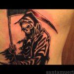 santa muerte tattoo37