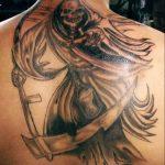 santa muerte tattoo57