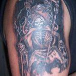 santa muerte tattoo62