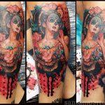 santa muerte tattoo64