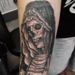 santa muerte tattoo65