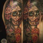 santa muerte tattoo67