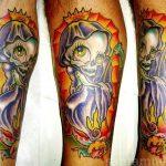 santa muerte tattoo69