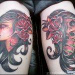 santa muerte tattoo72