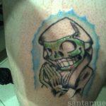 santa muerte tattoo79