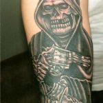 santa muerte tattoo80