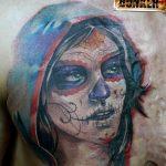 santa muerte tattoo83