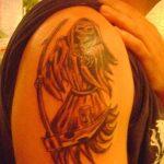 santa muerte tattoo85