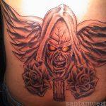 santa muerte tattoo86