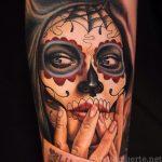santa muerte tattoo90