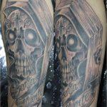 santa muerte tattoo97