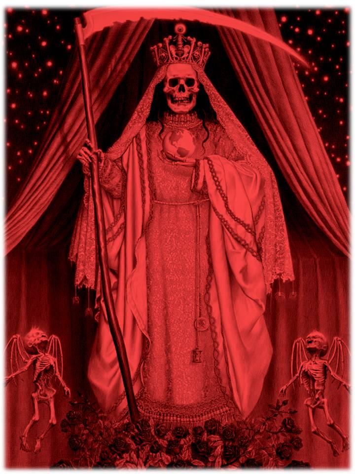 oracion santa muerte amarre