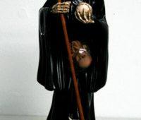 Santa Muerte de Pie y con Búho
