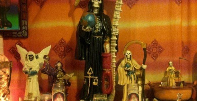 altar santa muerte hogar