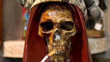 Holy Death Prayer Of Cigar