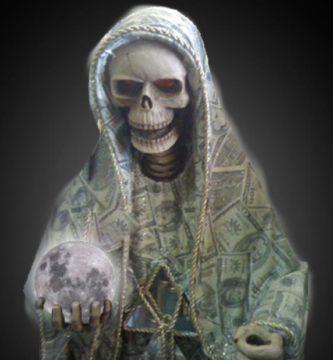 Oración a la Santa Muerte negra para el dinero